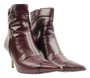 Coach Purple Maroon Burgundy Boots