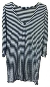 French Connection short dress stripe black and white on Tradesy