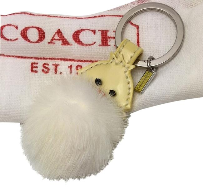 Item - Yellow Patent Leather Furry Chick Keyring
