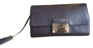 Michael Kors Gia Purple/eggplant Clutch