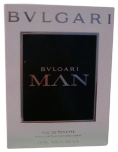 BVLGARI NEW BVLGARI MAN Eau de Toilette Sample