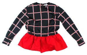 Au Jour Le Jour short dress Black & Red on Tradesy