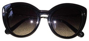 Louis Vuitton Louis Vuitton Willow Black Gray Cateye Silver Sunglasses