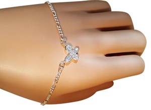 Other Adorable Silver filled Butterfly Bracele CZ
