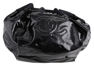 Chanel Tote Vinyl Hobo Bag