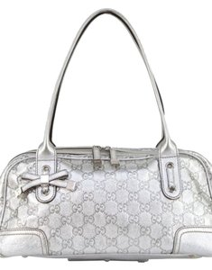 Gucci Leather Embossed Shoulder Bag