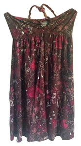 Free People short dress Pink Halter on Tradesy