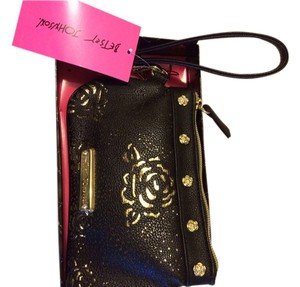 Betsey Johnson Wristlet in Black