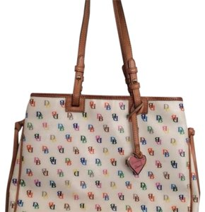 Dooney & Bourke Tote in White