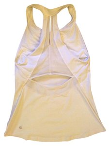 Lululemon Lululemon Make it Count Tank, White, Size 8