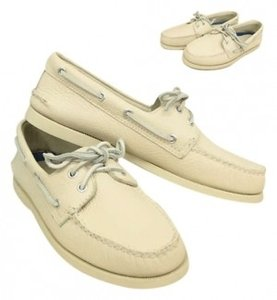 Sperry Top Slider Leather white Mules