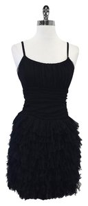 Bailey 44 short dress Black Tulle Spaghetti Strap on Tradesy