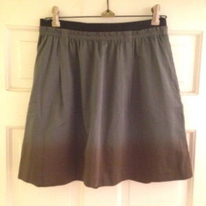 Anthropologie Mini Skirt Grey