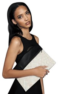 Bailey 44 Black & White Clutch