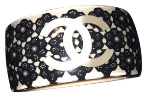 Chanel 16p Bracelet Pearly Black