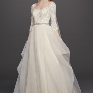 Oleg Cassini Beautiful Brand New Wedding Dress Wedding Dress