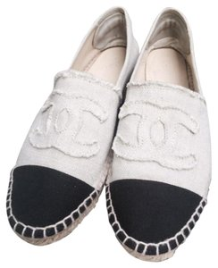 Chanel Espadrilles Double Sole Beige Flats