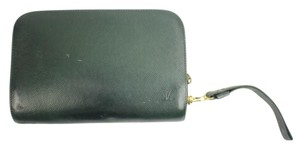 Louis Vuitton Clutch Orsay Baikal Trousse Wristlet in Green