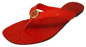 Tory Burch Volcano Red Sandals