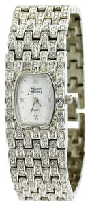 Suzanne Somers * Suzane Somers Crystal Embellished Quartz Watch