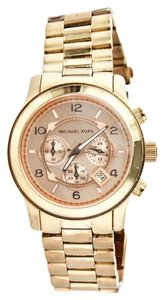 Michael Kors * Michael Kors MK 8096 Rose Gold Tone Watch