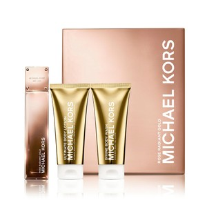 Michael Kors MICHAEL KORS Gold Collection Rose Radiant Gold Perfume Body Lotion Gift Set