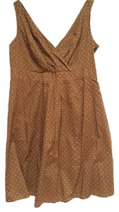 Lands' End short dress Brown on Tradesy