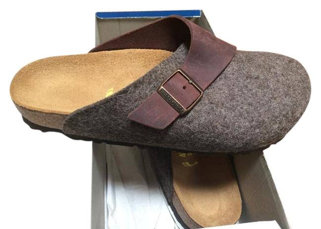 Item - Brown Box Basel New In 40/9.5-10 Mules/Slides Size US 9.5 Narrow (Aa, N)