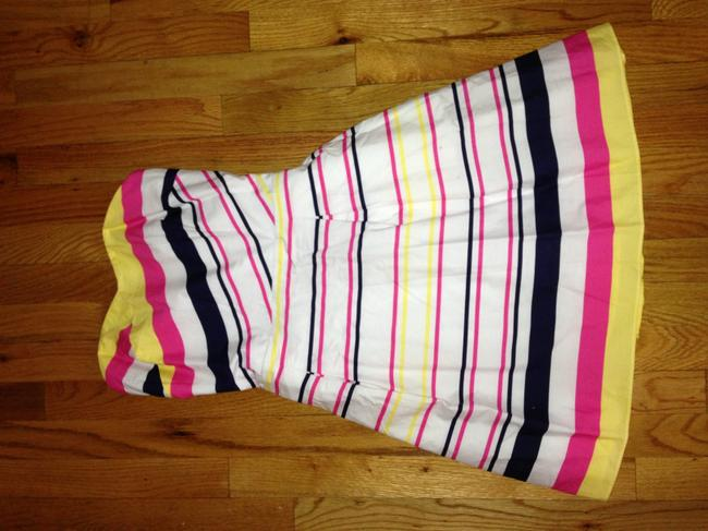 Lilly Pulitzer short dress White/Navy/Yellow/Pink on Tradesy