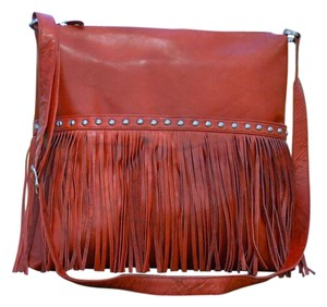 Other Fringed Fringed Hippie Chic Fringe And Studs Cross Body Bag