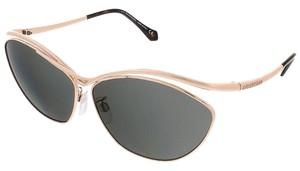 Balenciaga Balenciaga Rose Gold/Black Cat Eye Sunglasses