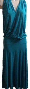 Mason short dress teal blue on Tradesy