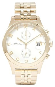 Marc by Marc Jacobs 'Ferus Slim' Chronograph Gold Tone Stainless Steel Watch