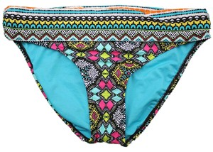 Kenneth Cole Kenneth Cole Women's Printed Banded Waist Bikini Bottom M without tags