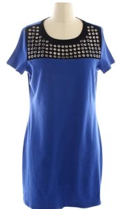Michael Kors short dress Blue black on Tradesy
