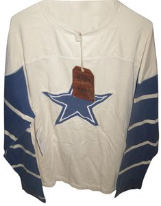 Mitchell & Ness Cream Sleeves Long Sleeve Star In Center Jacket