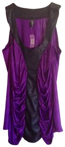 Z. Cavaricci Top dark purple