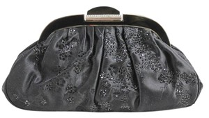 Judith Leiber Crystal Evening Black Clutch