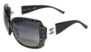 Chanel Sunglasses Black & White CC