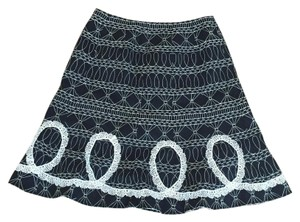 WD.NY Skirt Black and white