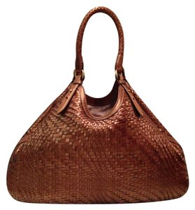 Cole Haan Tote in Bronze Brown Copper Brown