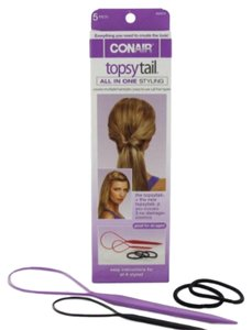 Conair TOPSY TAIL KIT, 5 pieces NEW