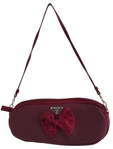 Prada Velvet Bow Shoulder Bag
