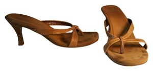 Candie's Leather NATURAL Sandals