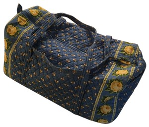 Vera Bradley Blue/Yellow Travel Bag