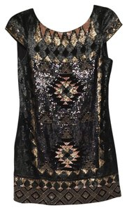 AllSaints Hand Embellished Dress