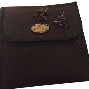 Vivienne Westwood Purple earrings