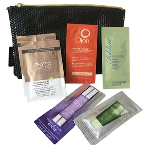 Sephora Cosmetic bag and hair care samples