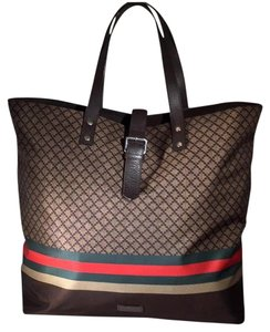 Gucci Tote in Beige Ebony