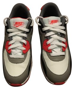 Nike White/Grey/Infrared Athletic